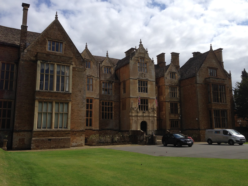 Wroxton Abbey Curtain Fitting