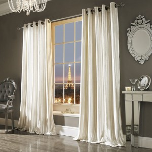 Iliana Curtains in Oyster