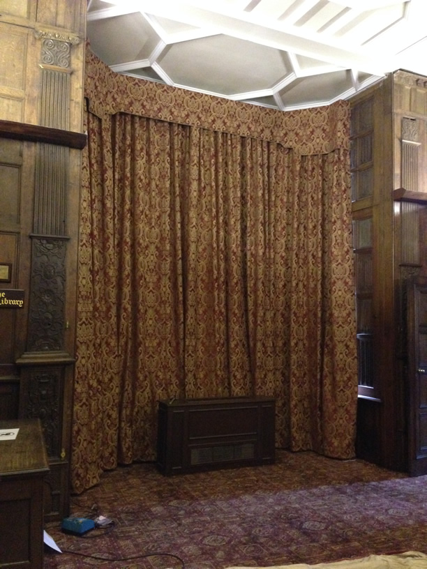 North Library Curtains