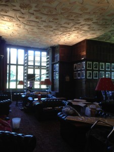 Wroxton Abbey Reading Room.