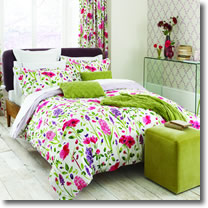Sanderson Spring Flowers Bedding Design
