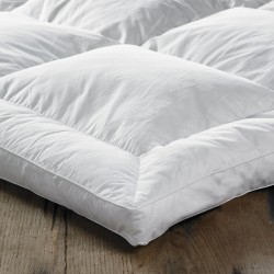 Small Super King Mattress Topper in Duck Feather & Down - 170 x 200cm
