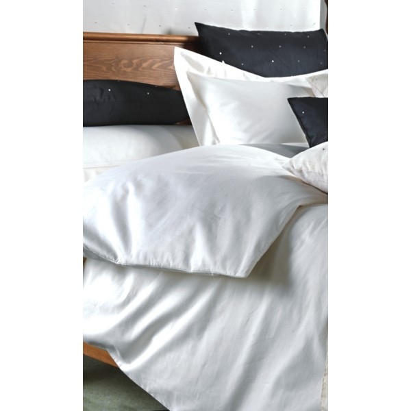 160 x 200cm Euro King Bed Set in 1000 Thread Count Cotton - White