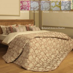 Emperor Quilted Bedspread Set - Downham - 5 Colours