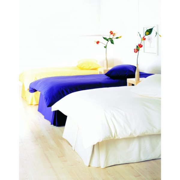 Small Double Duvet Set - 1000TC Cotton - White