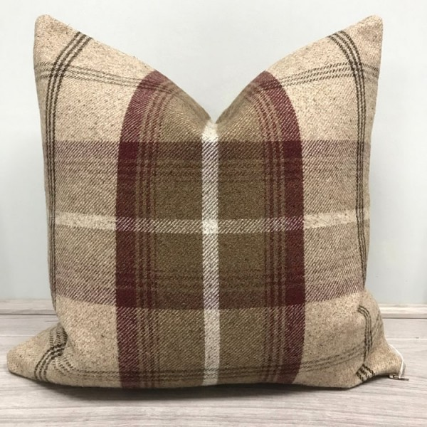 Balmoral Cushion - 10 Colours