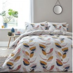 Small Double Layered Leaf Duvet Set