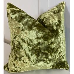 Crush Velvet Cushion in Teal - 45 x 45cm