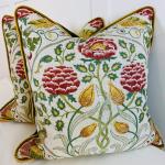 William Morris Seasons by May Cushion - 45 x 45cm