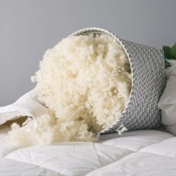 King Wool Duvet in Medium Weight (8 - 13 tog) - 230 x 220cm