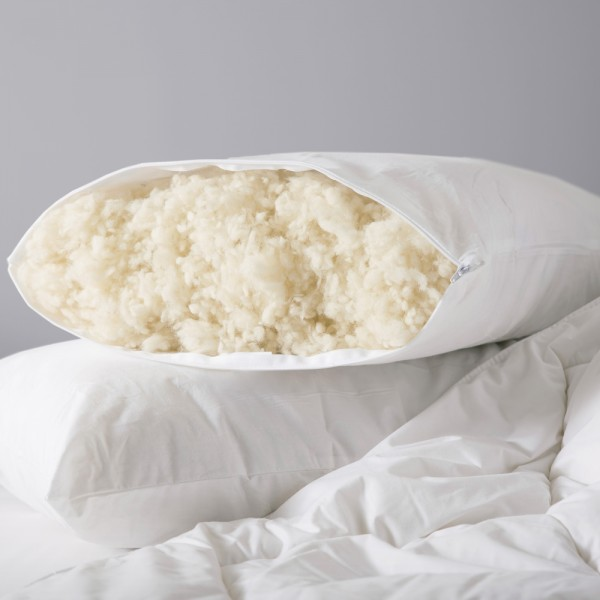 Standard Pillow in 100% Wool - 75 x 50cm