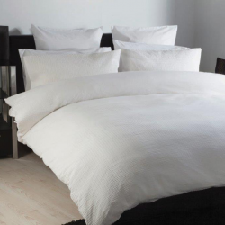 Large Single Duvet Set in Lincoln White
