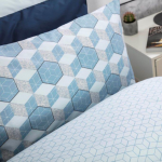 Long Single Duvet Set in Prism - 2 Colours