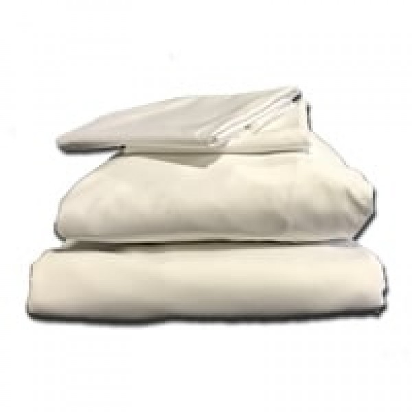 "2'6"" x 6'6"" CORE Bundle - 400 Thread Count Cotton - White or Ivory"