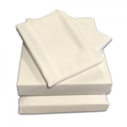 "2'3"" x 6'6"" Starter Bundle - 400 Count Cotton - White or Ivory"