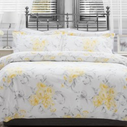 Large Single Duvet Set in Amour Saffron - 150 x 220cm