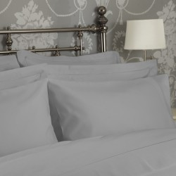 Std 75 x 50cm Pillow Case in 1200 Thread Count Cotton - 2 Colours
