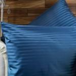 Std 75 x 50cm Pillow Case in 540TC Satin Stripe - 4 Colours