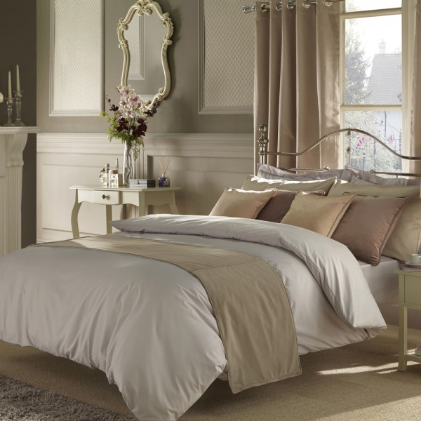 Large Emperor Bedding Set in Bowden Grey - 7ft x 7ft