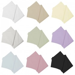 Small Double Flat Sheet - Easy Care - 11 Colours