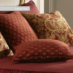Fitted Bedspread - Addlington Red