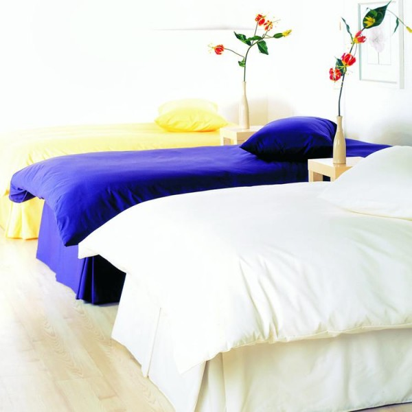 "4ft x 6ft 6"" Adjustable Bedding Pack - 11 colours - Easy Care"