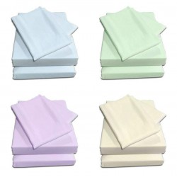160 x 200cm Ikea / Euro King Sheet Set - Easy Care - 11 Colours