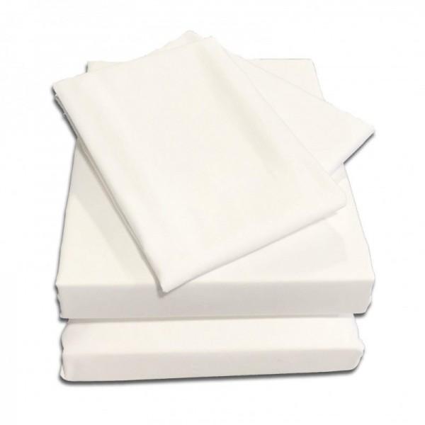 "2'6"" x 6'6"" Starter Bundle - 1000 Count Cotton - White"