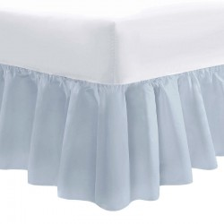 Small Double Valance - Cloud - 50/50 Easy Care