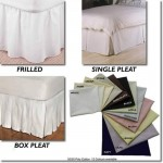 "Double Base Valance - 400 Thread Cotton - 4'6"" x 6'3"" - White or Ivory"