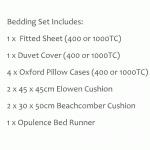 Luxury Bedding Set - Bergamo