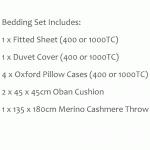 Luxury Bedding Set - Taranto