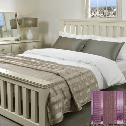 Bedspread - Wordsworth Aubergine