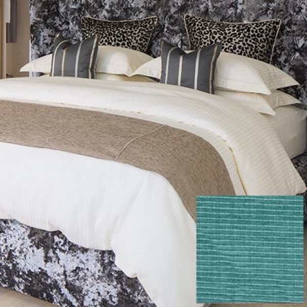 Emperor Bedspread - Zanzibar Azure