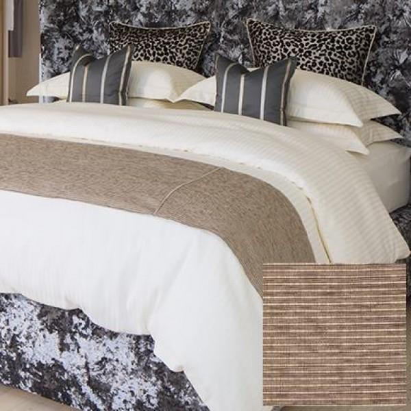 Zanzibar Latte Bed Throw in Various Sizes
