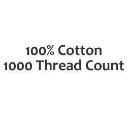 1000 Thread Count - Small Double Fitted Sheets