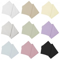 Semi Fitted Sheet - UK Sizes - 11 Colours