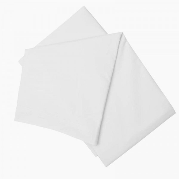 Emperor Semi Fitted Sheet in 100% Cotton - White or Ivory