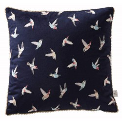 Hummingbird Boudoir Cushion