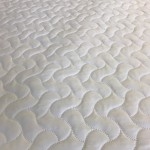 "Double Quilted Mattress Protector - 4'6"" x 6'3"""