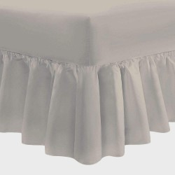 Valance Sheet - Stone - 50/50 Easy Care