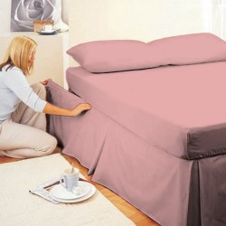 Easy Fit Velcro Valance - Blush