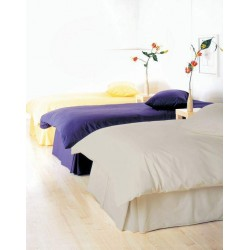 Duvet Cover & Pillow Case Set - Stone - 200 Thread Count Percale