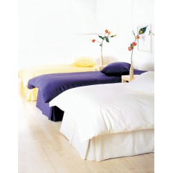 Emperor Duvet Set in 100% Cotton - White or Ivory - 290 x 235cm