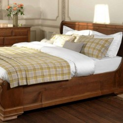 4Ft Small Double Bed Set - Bowland - 6 Colours