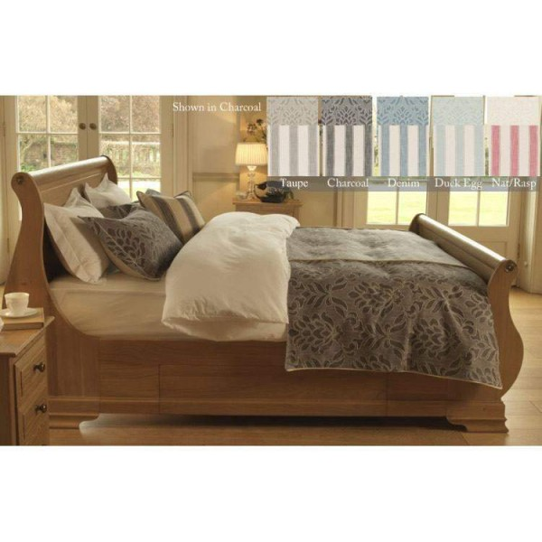 Small Double Bed Throw - Fairmont - 5 Colours