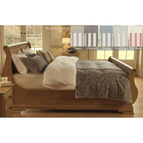 4Ft Small Double Bedspread - Fairmont - 5 Colours