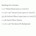 Small Double Bed Set - Wordsworth