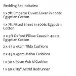 Emperor Bedding Set - Earlston