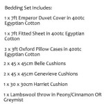 Emperor Bedding Set - Richmond